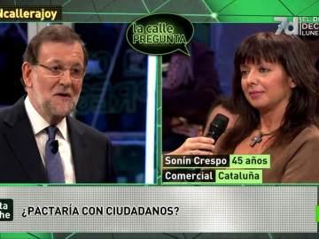 Rajoy y Sonín Crespo