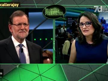 Mónica Oltra pregunta a Mariano Rajoy