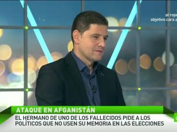 Javier Estévez, portavoz del SUP
