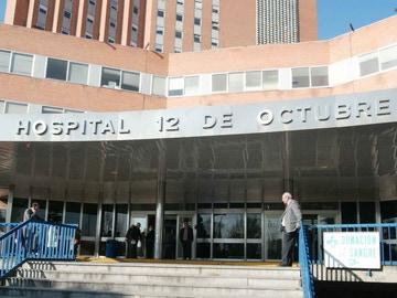 Entrada al Hospital 12 de octubre