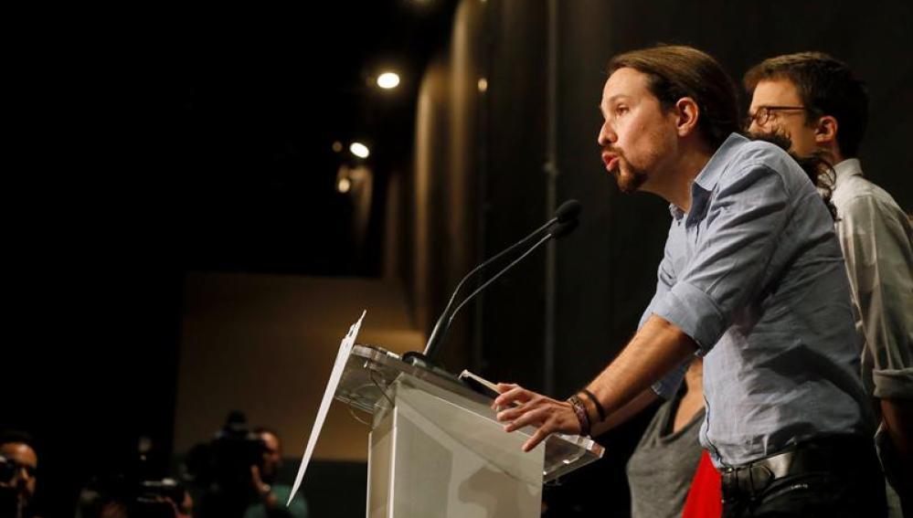 Pablo Iglesias, candidato de Podemos a la Presidencia del Gobierno