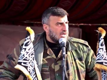 Zahran Alush, antiguo líder del Ejército del Islam