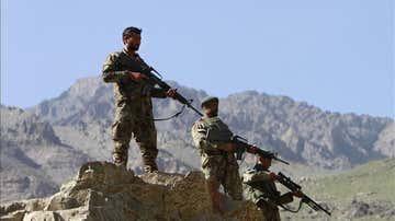 Soldados en Afganistán