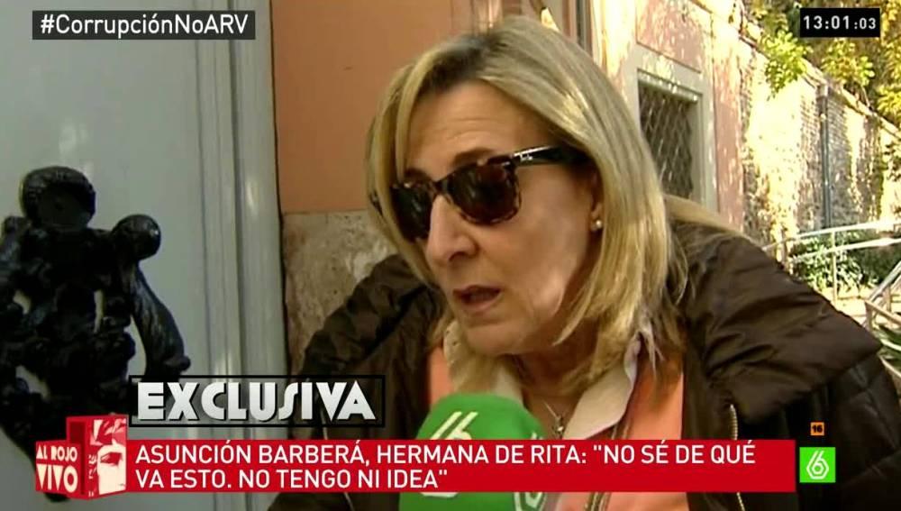 Asunción Barberá habla con laSexta