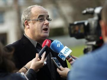 El portavoz del PNV en el Parlamento Vasco, Joseba Egibar
