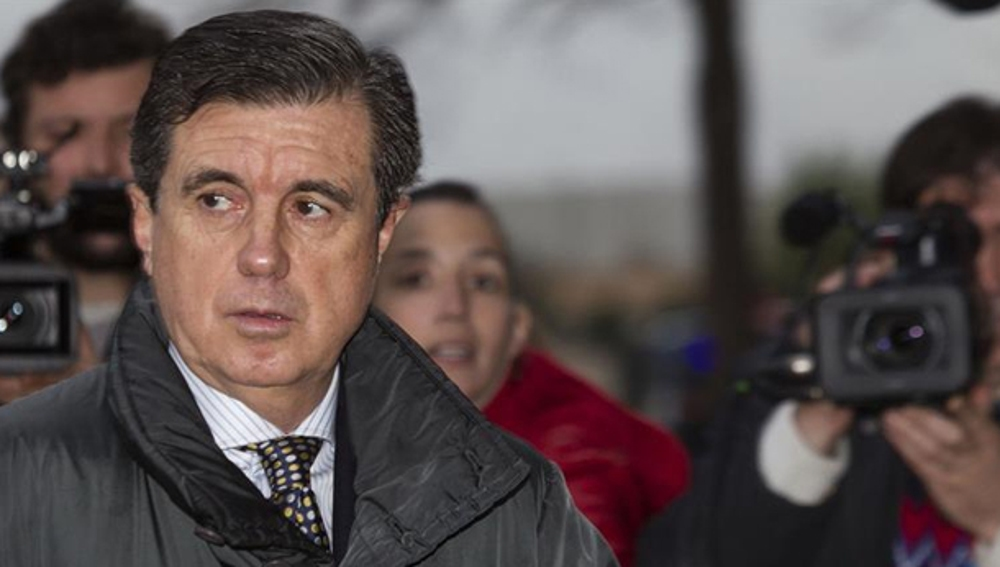 Jaume Matas llega a los juzgados de Palma