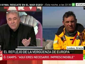 Óscar Camps, director ONG