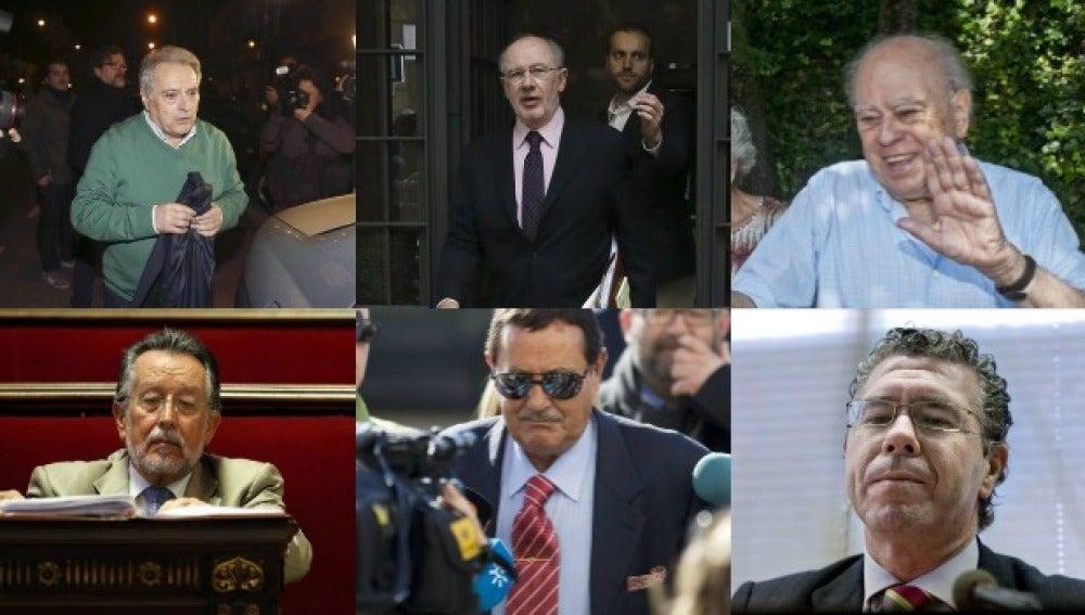 Las caras de la corrupción en España