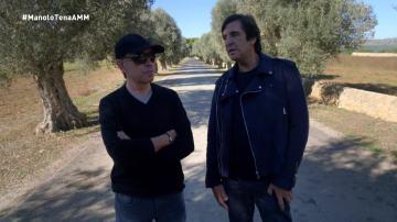 Manolo Tena y Nacho García Vega, en A mi manera