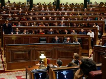 El hemiciclo del Congreso de los Diputados