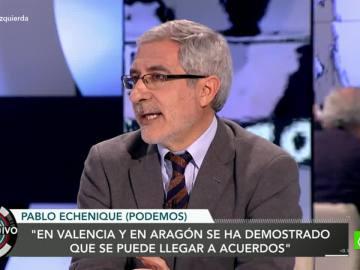 Gaspar Llamazares en El Objetivo