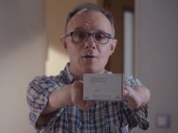 Fotograma del vídeo de denuncia de la Talidomida