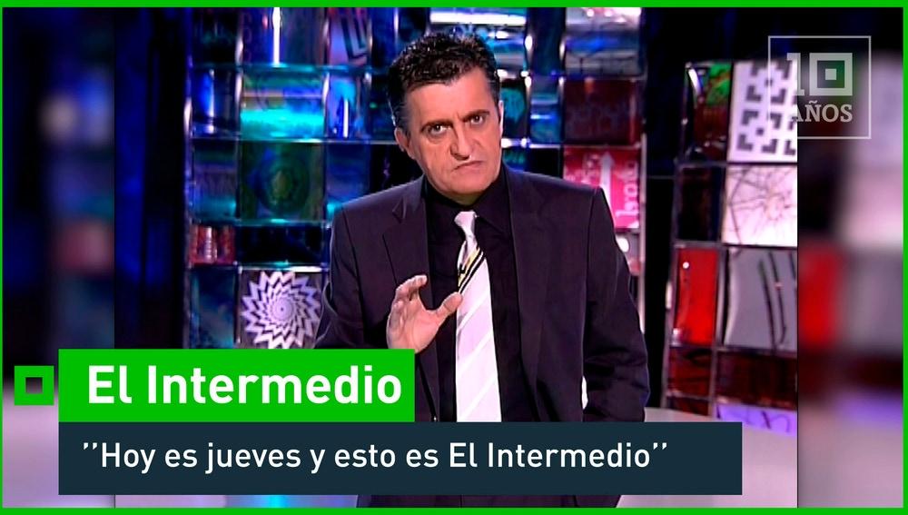 2006. El primer programa de 'El Intermedio' - La Sexta 10º Aniversario