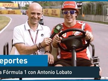El paseo en bici de Fernando Alonso y Lobato en el GP de Corea - Deportes - laSexta 15º aniversario