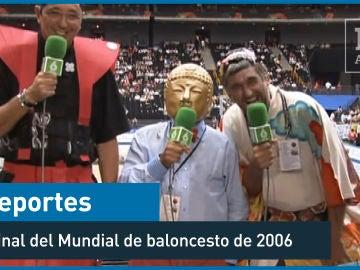 2006. La final del mundial de baloncesto en Japón - Deportes - laSexta 15º aniversario