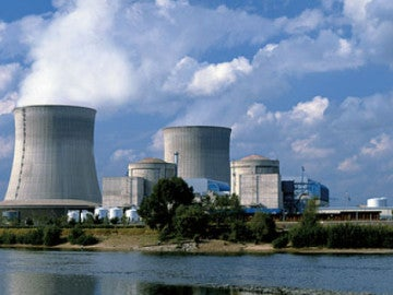 Una central nuclear