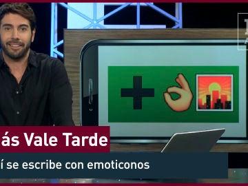 2015. ¿Cómo se dice 'Más vale tarde' en lenguaje emoji?
