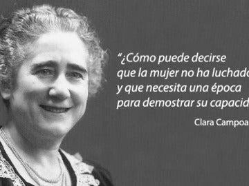 Discurso de Clara Campoamor en 1931