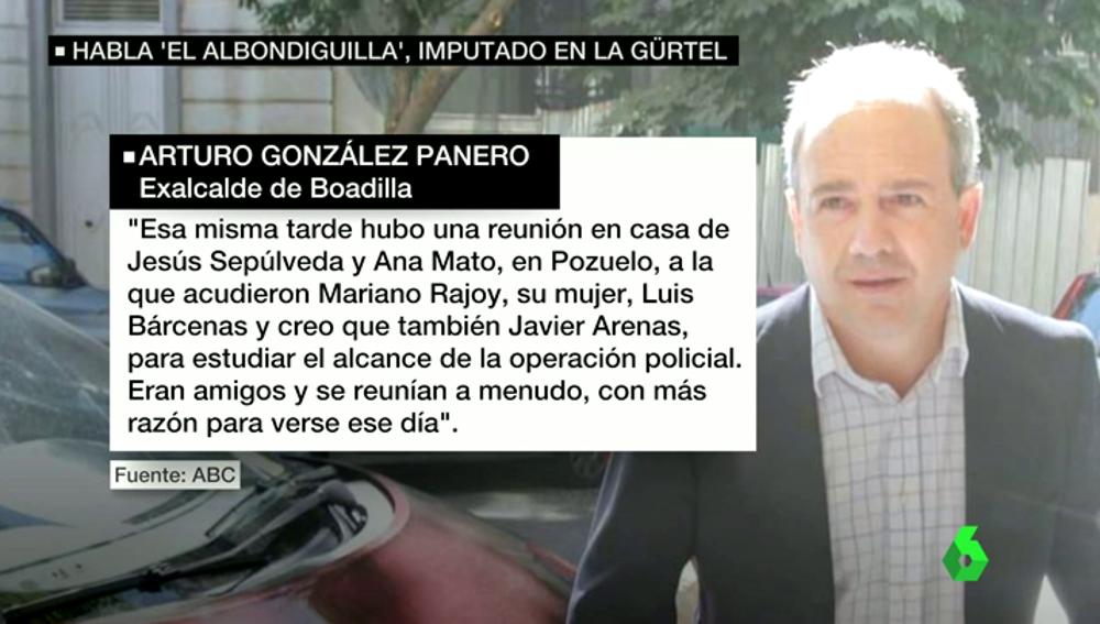 Frame 50.988025 de: González Panero acusa a Granados de recaudar el dinero destinado a tapar el agujero de la campaña de 2007