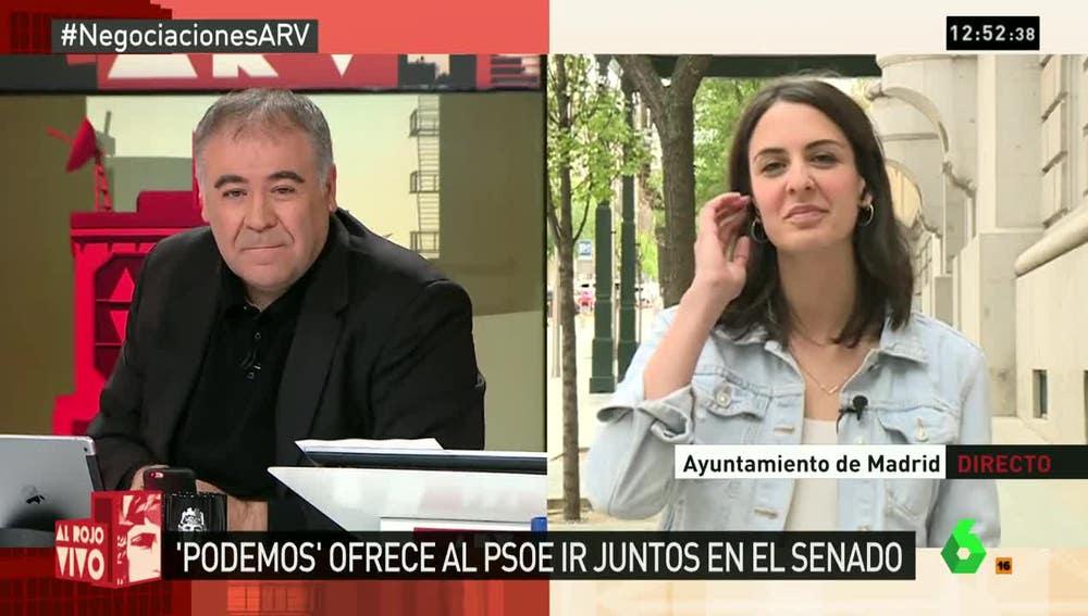 Ferreras entrevista a Rita Maestre