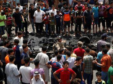Consecuencias del atentado en Bagdad