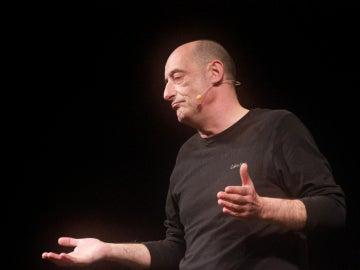Félix Álvarez, 'Felisuco', en una obra de teatro