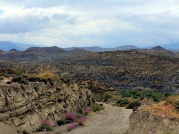 Imagen de unas montañas en Almería