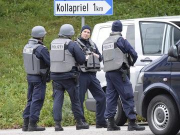 Imagen de archivo de Policías en Austria
