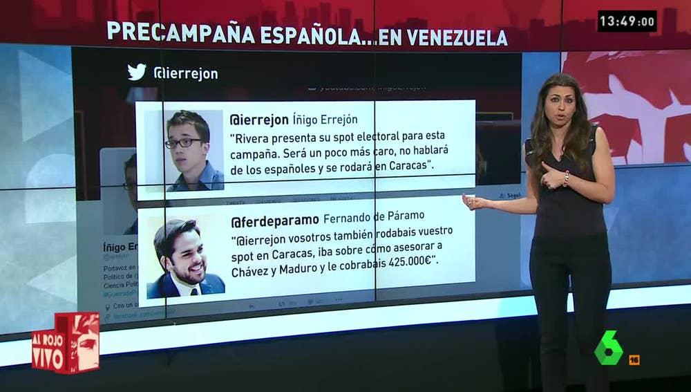 Guerra tuitera entre Errejón y De Páramo