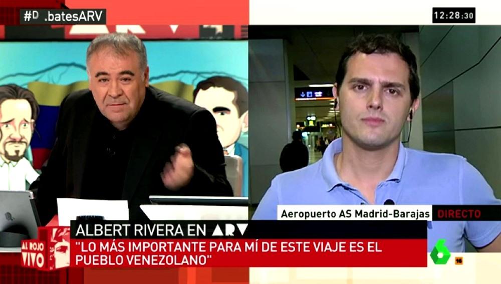 Albert Rivera en ARV