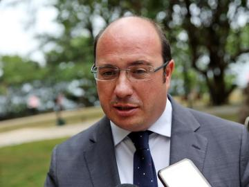 El presidente de la región de Murcia, Pedro Antonio Sánchez