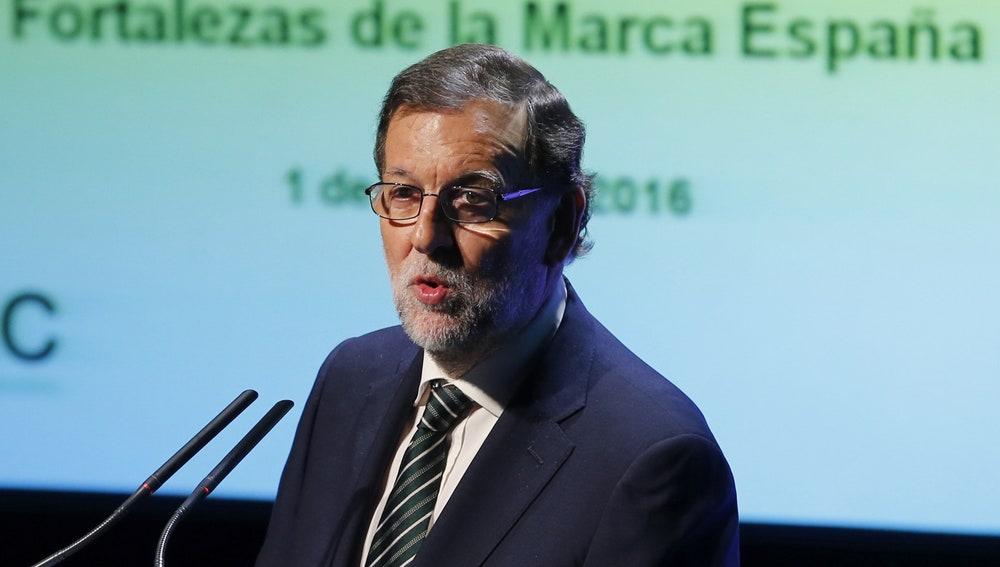 El presidente en funciones, Mariano Rajoy