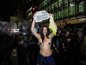 Manifestaciones en Brasil contra las violaciones