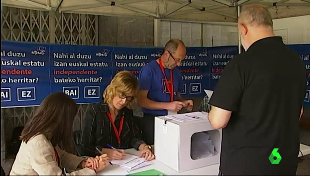 Consulta soberanista en municipios vascos