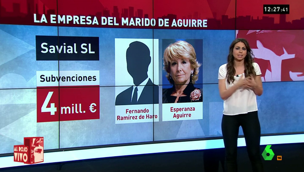 Frame 34.840286 de: La empresa del marido de Aguirre desvió más de 3 millones de subvenciones a jugar en bolsa