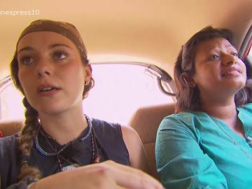 Sonia y su acompañante cabreada