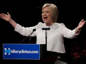 Hillary Clinton se proclama vencedora de las elecciones internas demócratas
