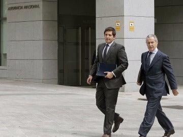 Miguel Blesa a su llegada a la Audiencia Nacional