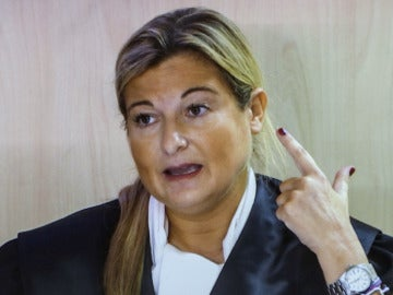 Virginia López Negre declarando en el juicio de Nóos