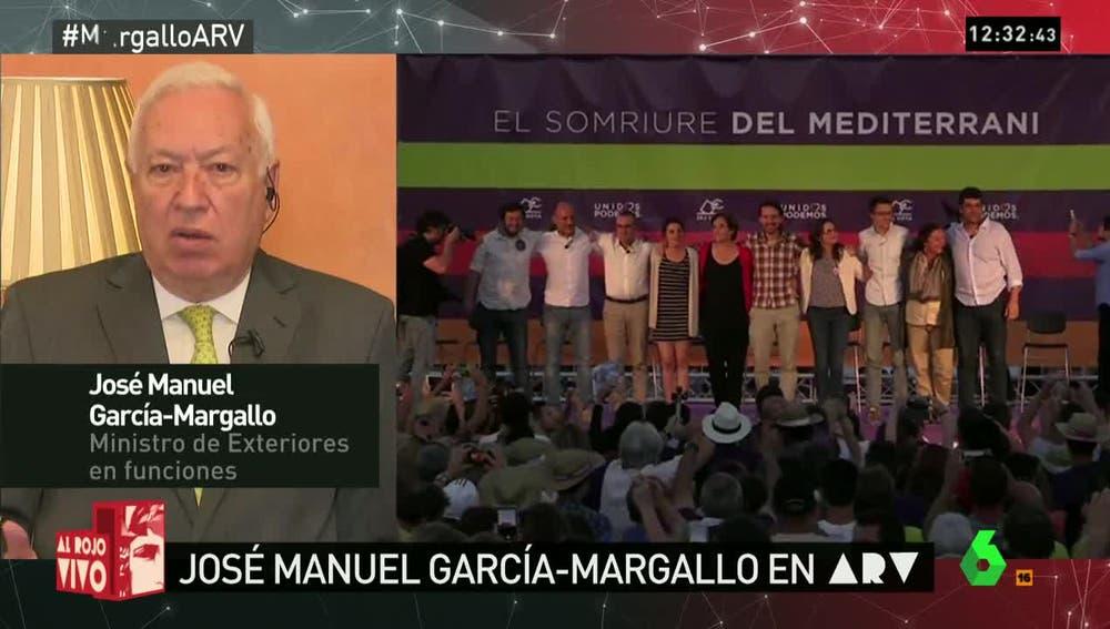 José Manuel García-Margallo, en Al Rojo Vivo