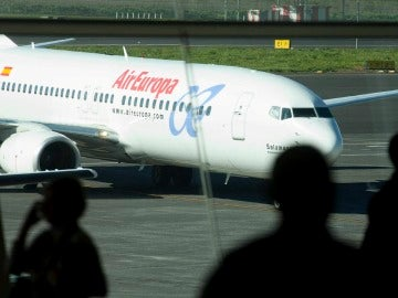 Un avión de Air Europa