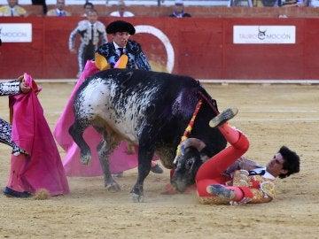 Momento de la cogida mortal al torero Víctor Barrio