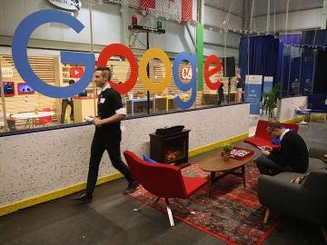 Imagen del interior de una de las oficinas de Google