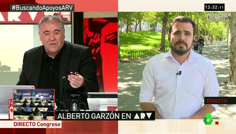 """Frame 1.934501 de: Alberto Garzón: """"Tengo diferencias ideológicas con Íñigo Errejón, pero la relación es buena"""""""