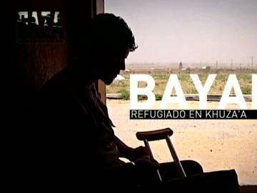 Bayan, refugiado en Khuza'a