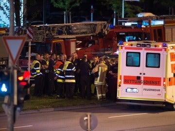 Al menos diez muertos en un tiroteo en Múnich