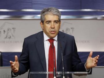 Francesc Homs, en el Congreso.