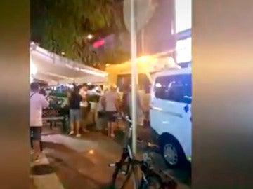 Flashmob en Platja d'Aro