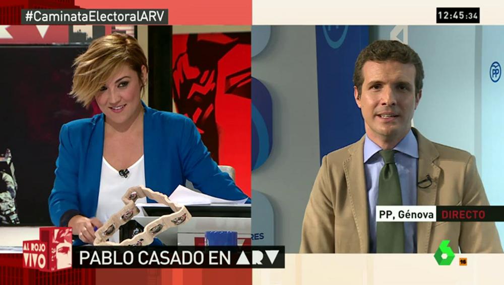 """Frame 0.0 de: Casado, sobre el chantaje al PSOE: """"Está obsesionado con el Ibex, que son trabajadores de empresas grandes"""""""