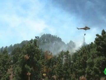 El Gobierno de Canarias da por controlado el incendio de La Palma